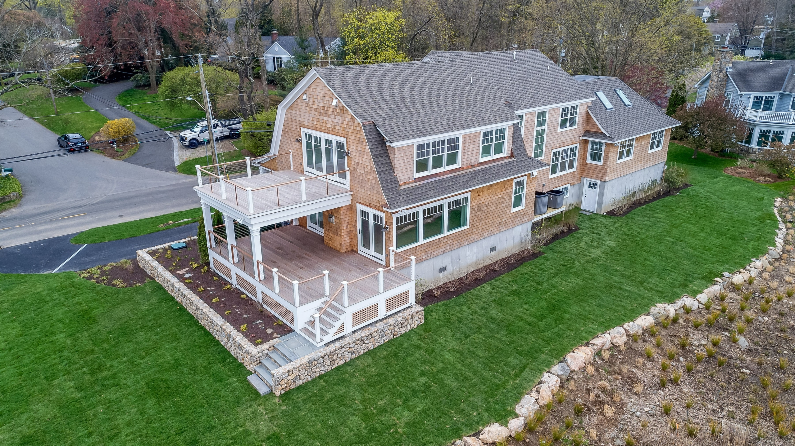 New Home Built in Darien Connecticut